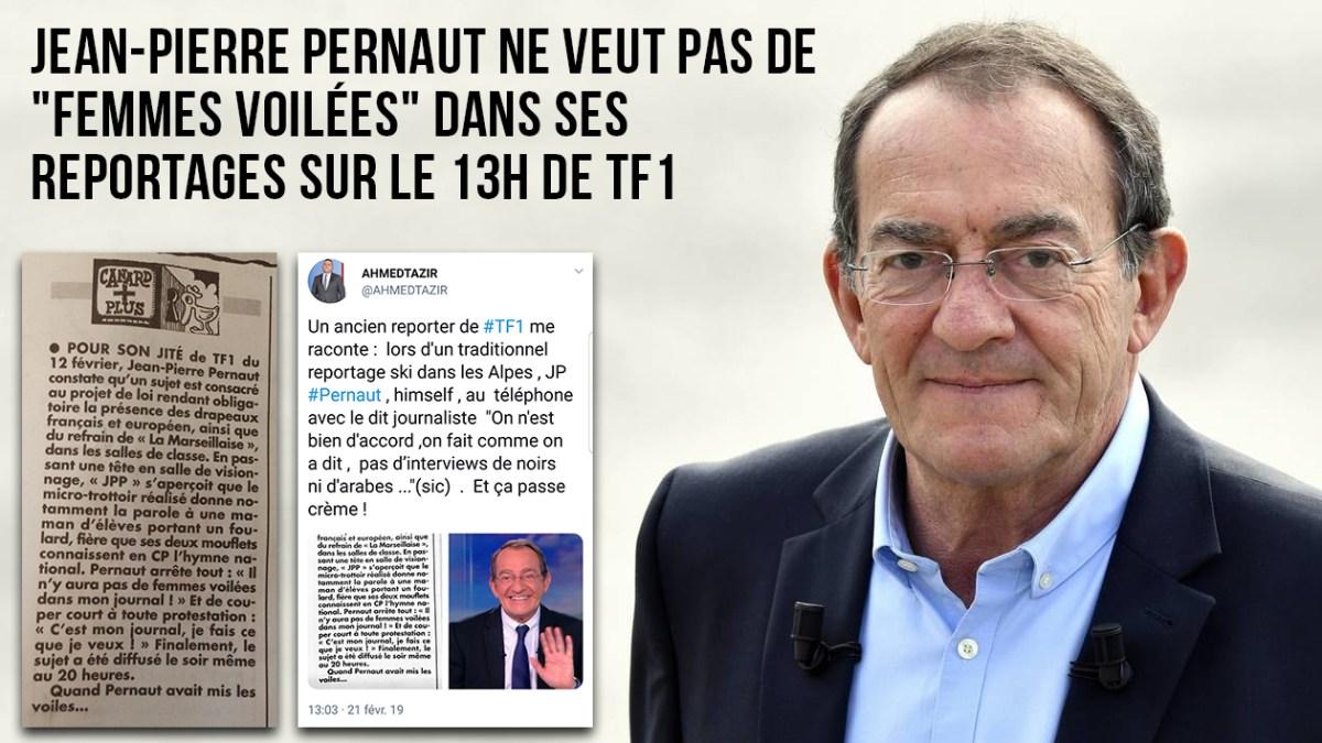 Jean-Pierre Pernaut ne veut pas de « femmes voilées » dans ses reportages sur TF1