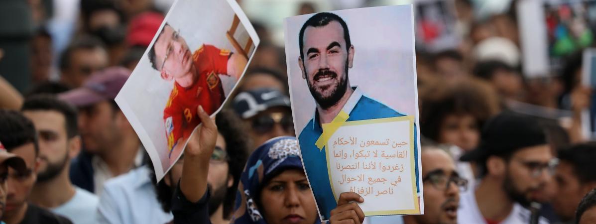 20 ans de prison confirmée pour Nasser Zefzafi avec le silence complice de la France !