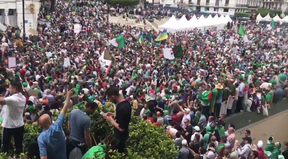 Une marée humaine au cœur d'Alger : « Sorry #GaidSalah »
