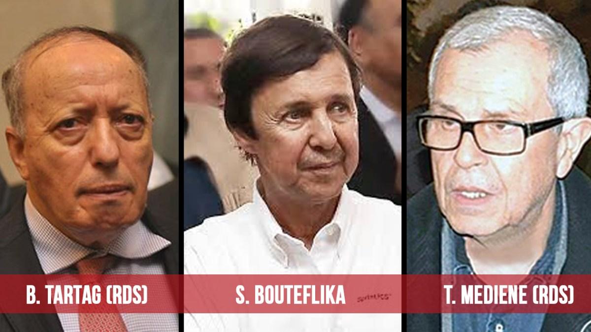 URGENT : Saïd Bouteflika, les généraux Toufik et Tartag arrêtés