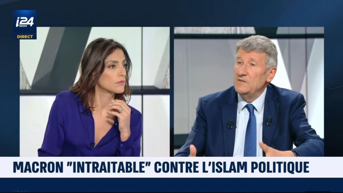 Islamomanie et propagande : Philippe de Villiers récidive sur i24 News