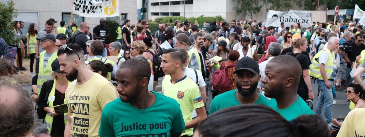 Hommage à Adama Traoré : « Cette marche avec les #GiletsJaunes est un grand pas dans le combat contre les violences policières »