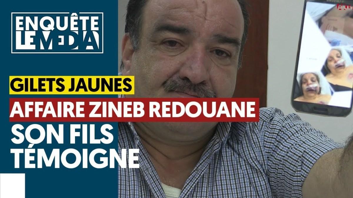 Témoignage du fils de Mme Zineb Redouane, tuée par la police !