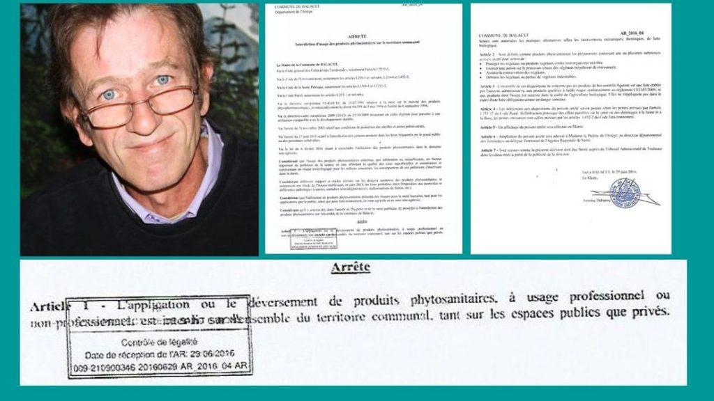 L'UPR s'étonne de l'invalidation, par des préfectures et par la justice, d'arrêtés municipaux anti-produits phytosanitaires