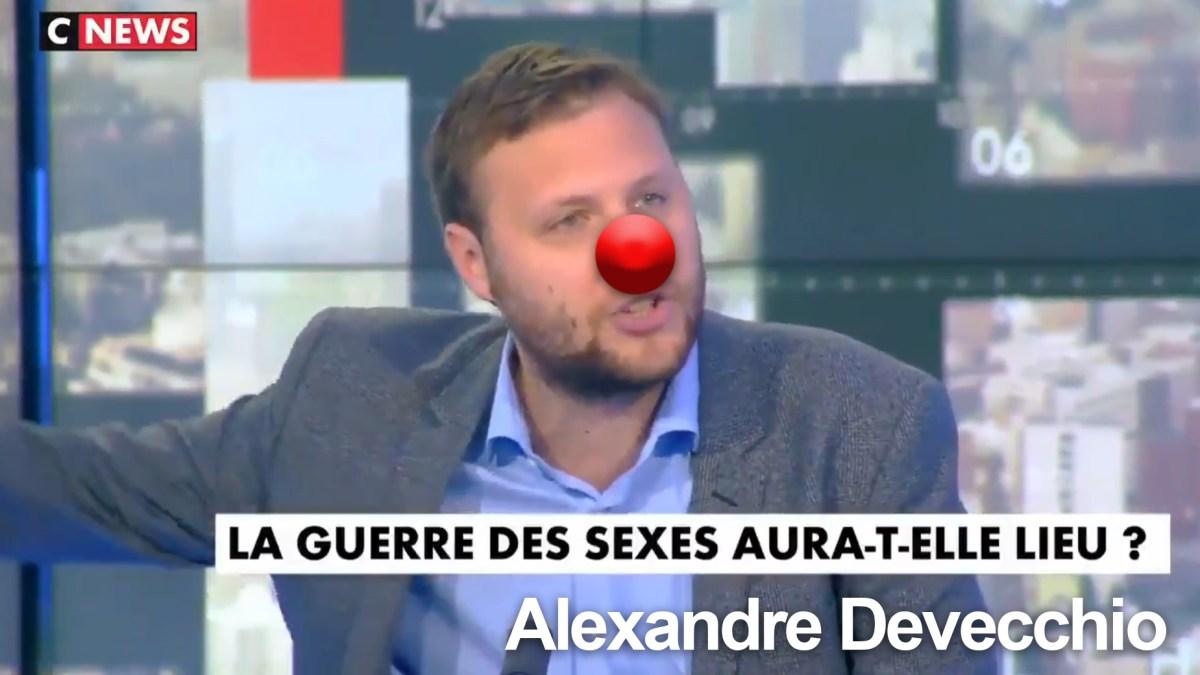 Alexandre Devecchio en plein délire sur CNews chez Pascal Praud !