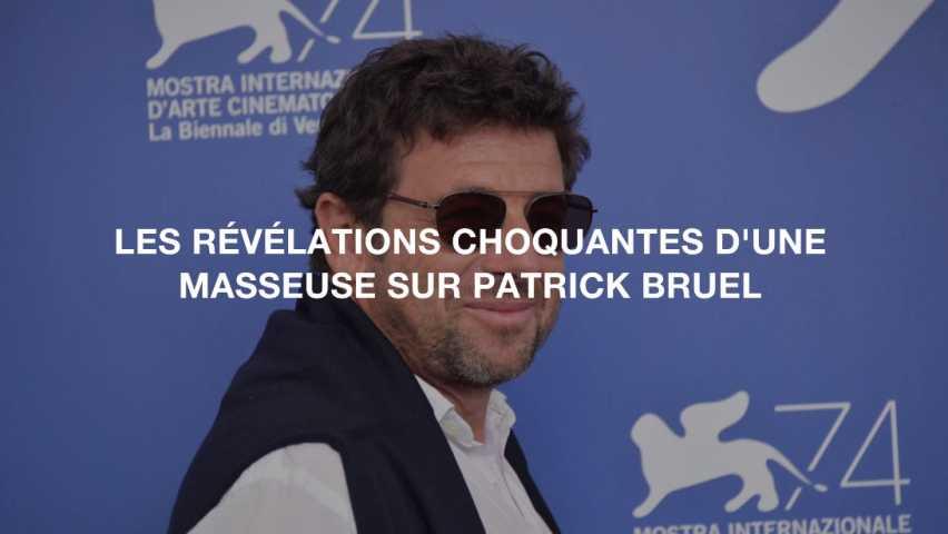 Affaire Patrick Bruel : « Il m'attrape les poignets et se colle à moi, nu, en érection » !
