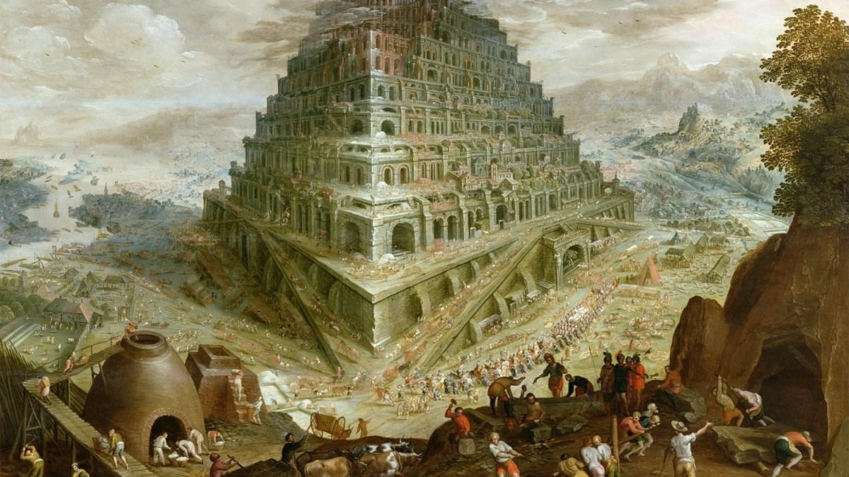 Nemrod et la Tour de Babel, de Pierre-Yves Lenoble
