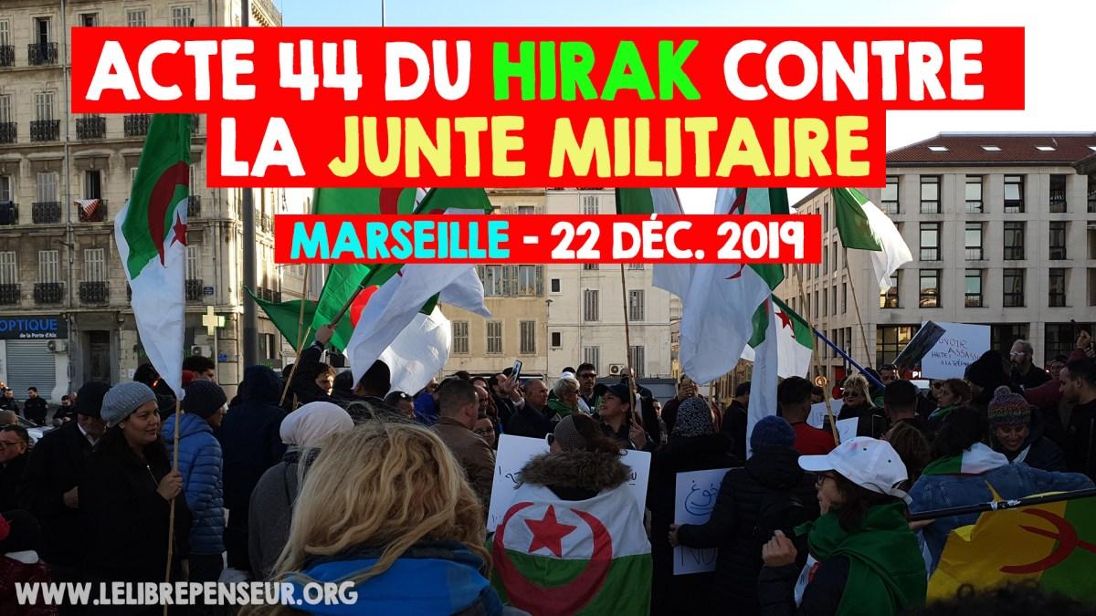 Manifestation contre la mafia militaire en Algérie commentée par M. Salim Laïbi