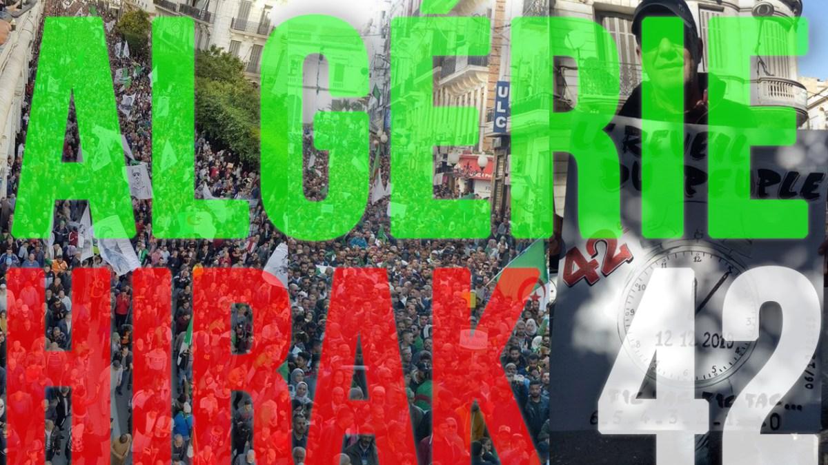 Algérie : 42e Hirak du vendredi 6 décembre 2019 ! [vidéos + photos]