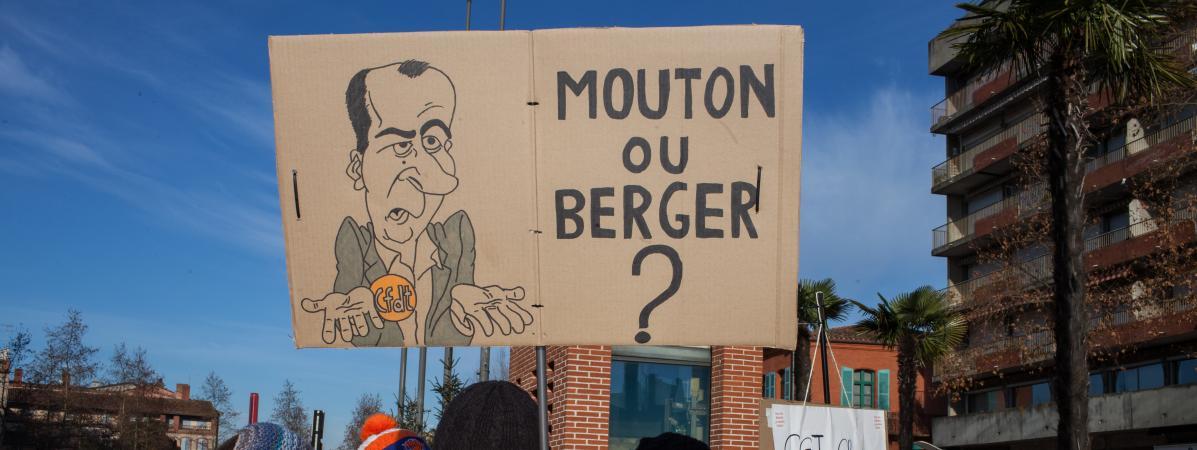 Des adhérents de la CFDT en colère quittent le syndicat !