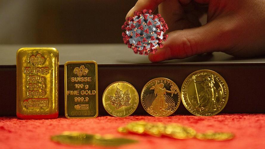 Le coronavirus booste les cours de l'or