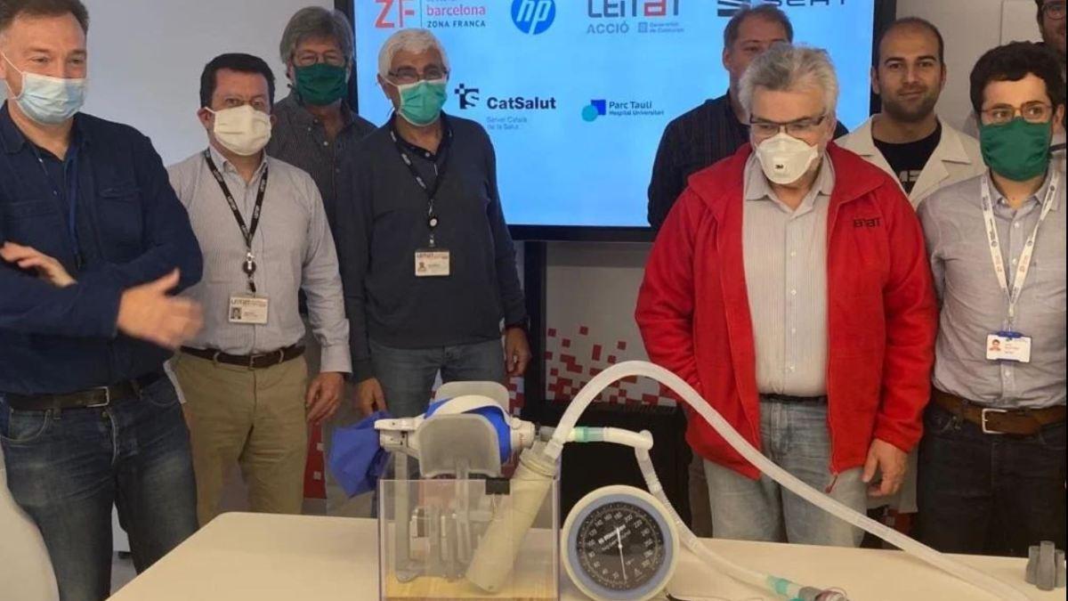 Une équipe de 300 bénévoles a créé en une semaine un respirateur artificiel imprimable en 3D
