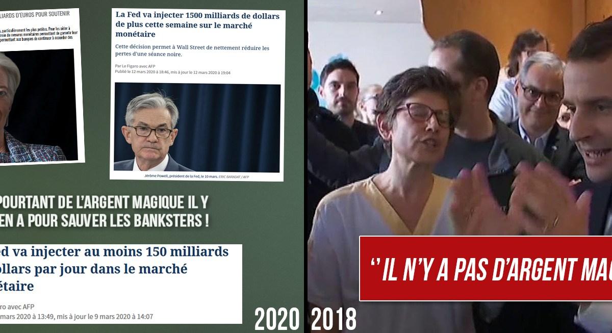 Coronavirus : quand Macron parlait «d'argent magique» concernant les hôpitaux !