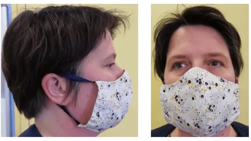 Covid-19 : le CHU de Grenoble réalise un tuto pour fabriquer des masques de protection !