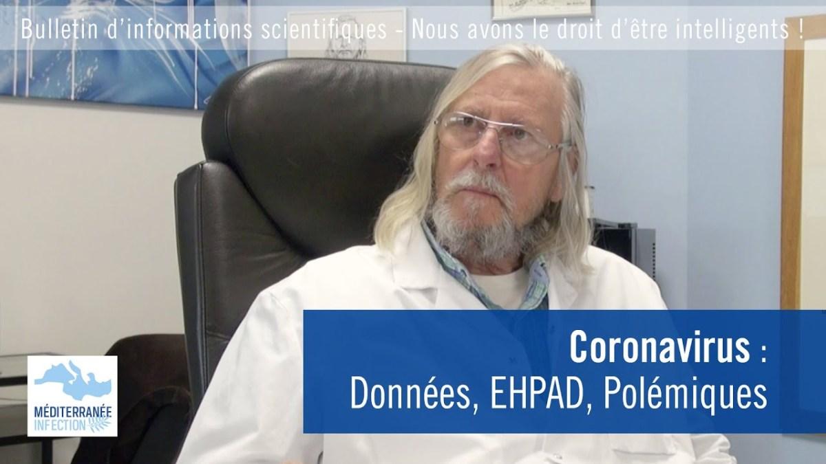 Coronavirus : données, EHPAD, polémiques