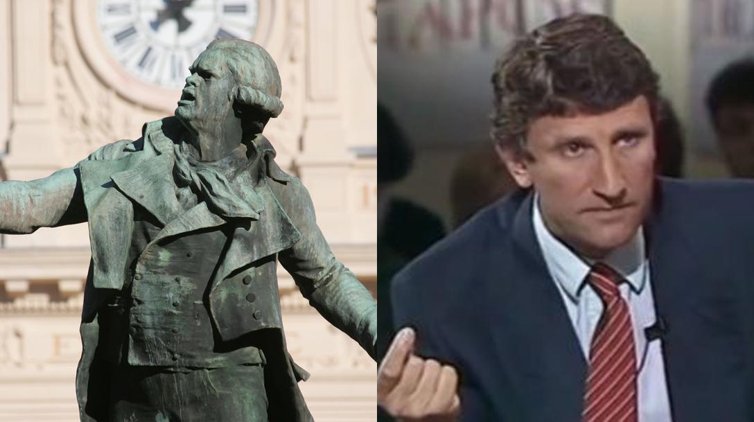 Quand Philippe de Villiers voulait déboulonner des statues
