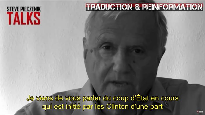 Le Dr Steve Pieczenik évoque le Lolita Express et la pédophilie des Clinton en novembre 2016