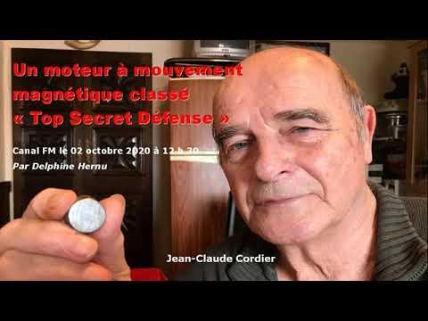 Jean-Claude Cordier prétend que son moteur magnétique M3 est classé « Secret Défense » par le gouvernement
