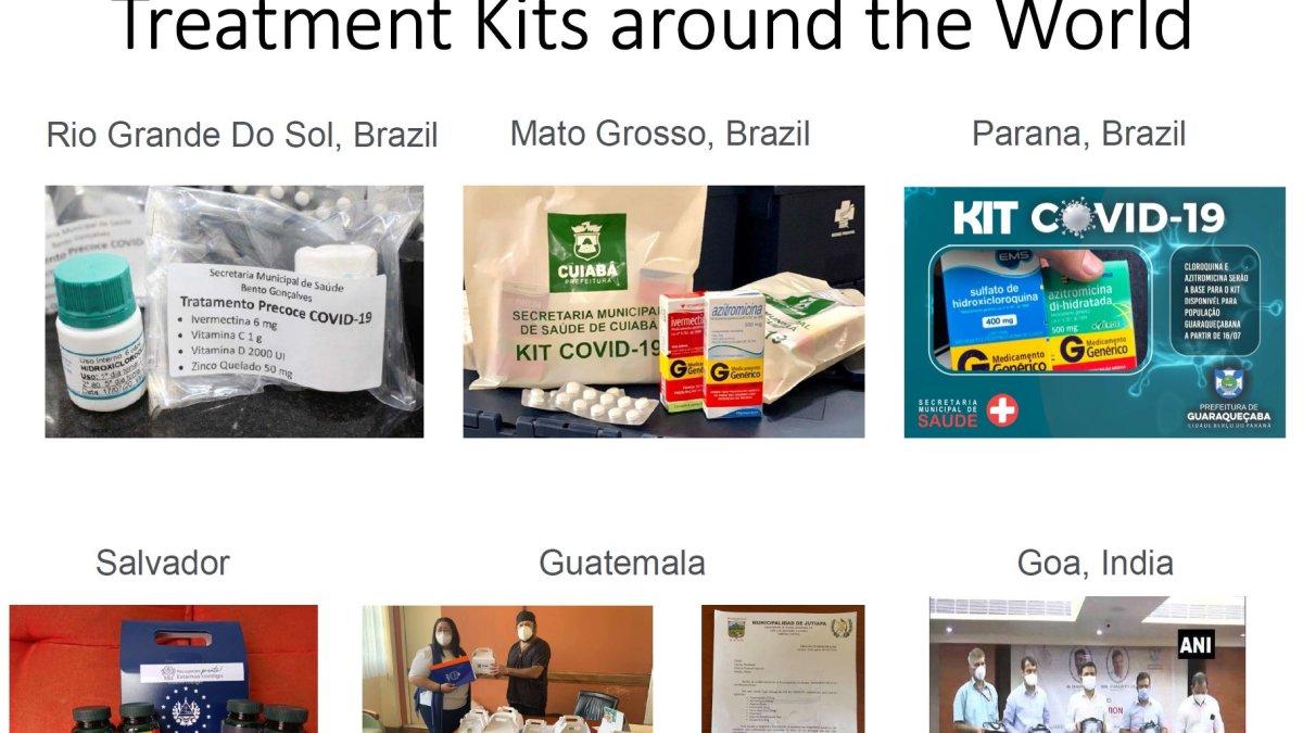 Le kit anti Covid-19 [Vitamines C et D – Zinc] distribué à la population au Brésil et en Inde