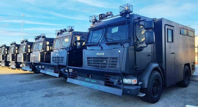 Répression « MADE IN FRANCE » en Tunisie : 60 camions anti-émeute envoyés à la police tunisienne depuis Marseille !