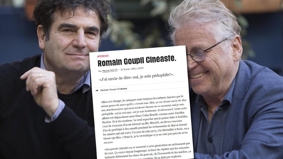 Quand Romain Goupil assumait être pédocriminel dans un article de Libération !