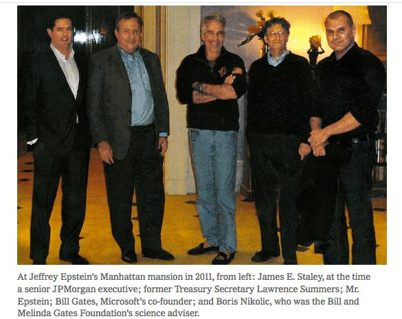 Bill Gates : la photo embarrassante avec Jeffrey Epstein qu'il voudrait voir disparaître