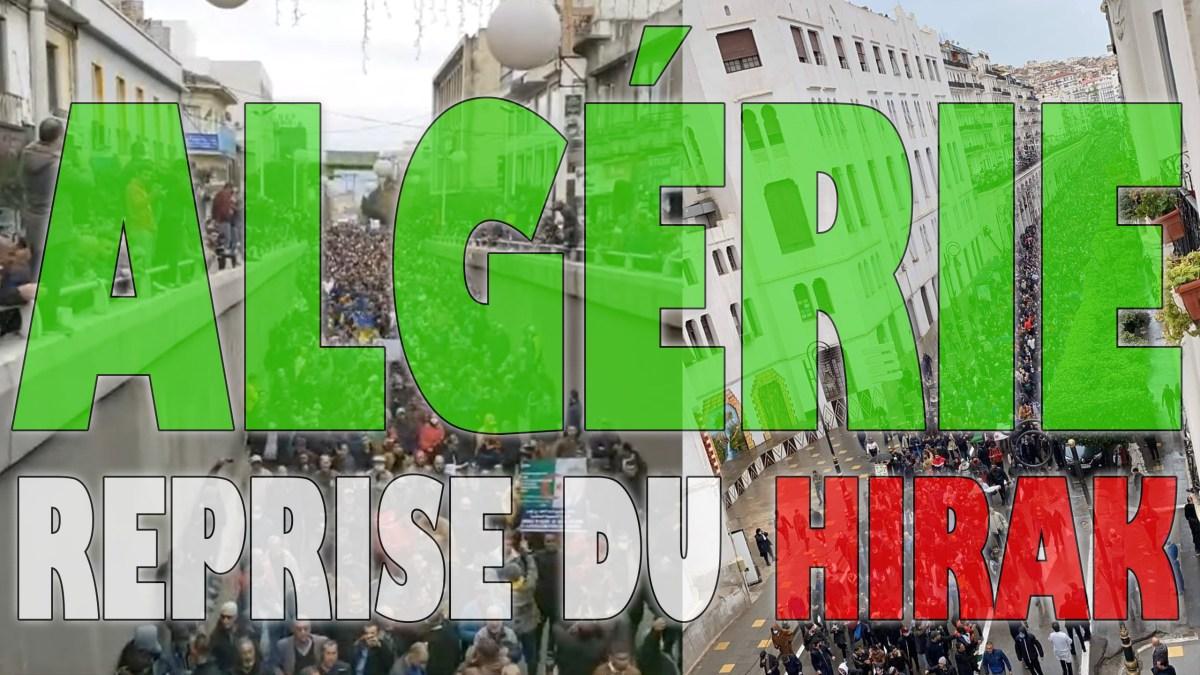 Algérie : des millions de manifestants pour les 2 ans du Hirak ! [vidéos + photos]