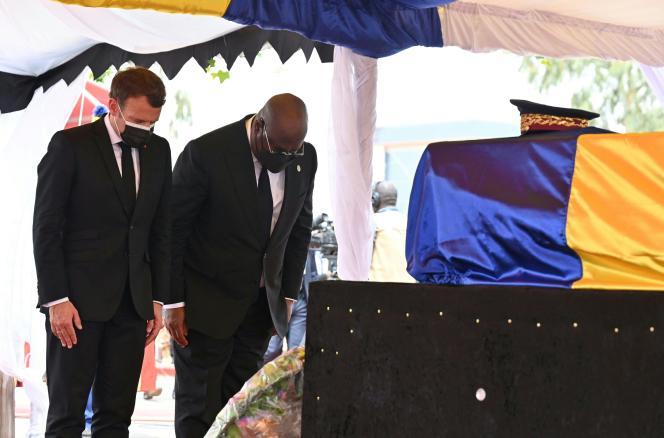 France-Afrique : Macron, seul président européen aux funérailles du dictateur Idriss Déby !