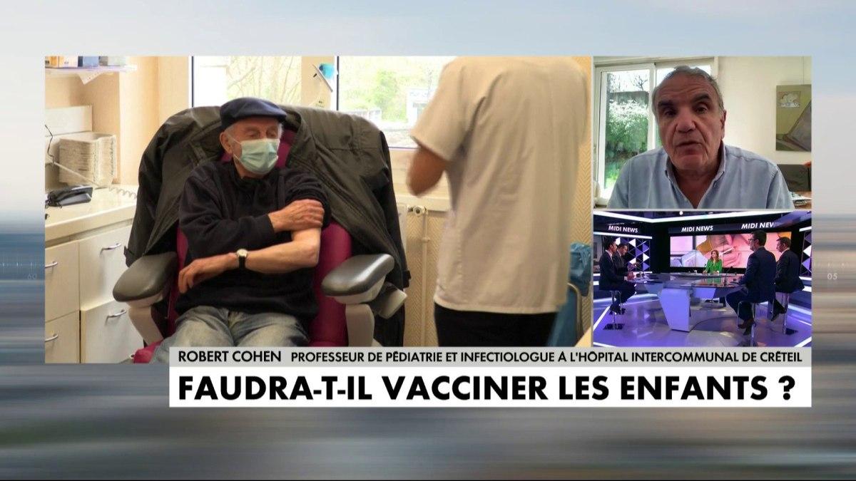 Le Pr Robert Cohen préconise de vacciner aussi, d'abord les ados, puis les enfants