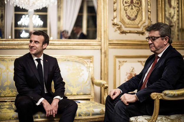 Propagande : selon Ifop, Macron s'échappe, Mélenchon s'effondre !