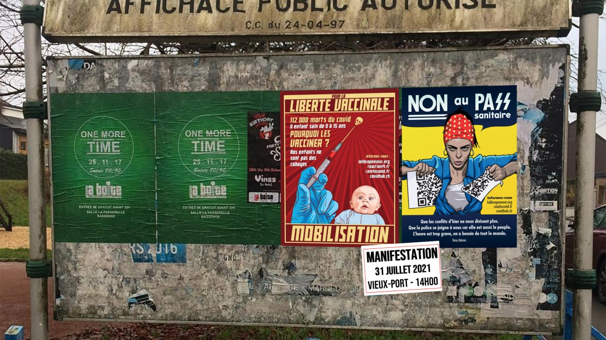 Opération de contre-propagande anti-dictature sanitaire !