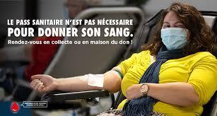 Covidiots : le pass sanitaire n'est pas exigé pour le don du sang !