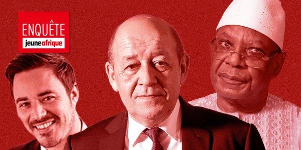 France-Afrique : Jean-Yves Le Drian a-t-il fait jouer ses réseaux au profit de son fils ? (1/2)