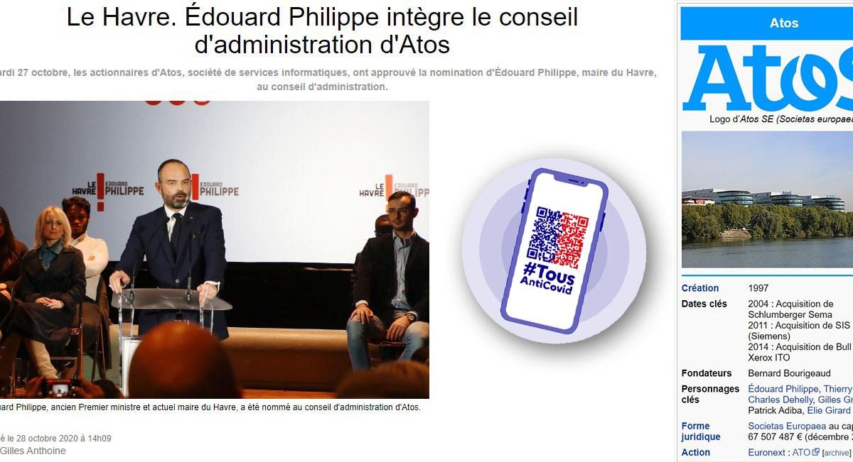 Atos s'envole subitement en Bourse pour la plus grande joie d'Édouard Philippe !