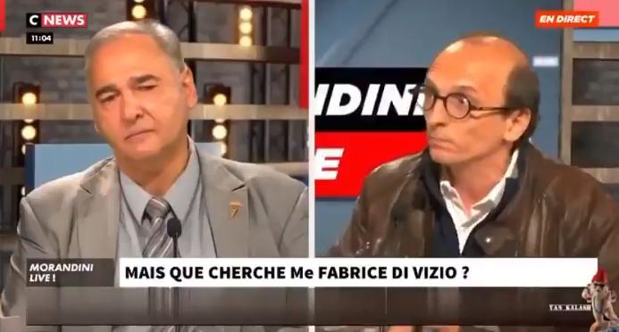 Covidisme : le risible Dr Papon fuit avec suffisance la question pertinente de Me Di Vizio !