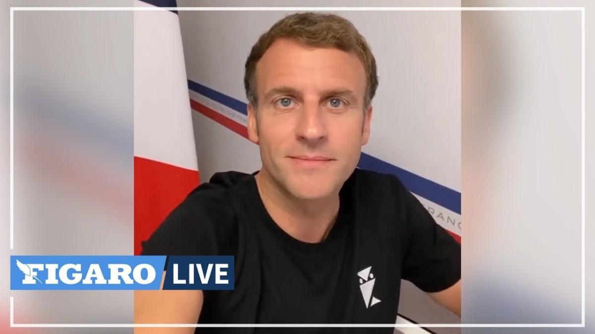 Covid-19 : sur TikTok, Macron se ridiculise toujours plus et diffuse des fake news !