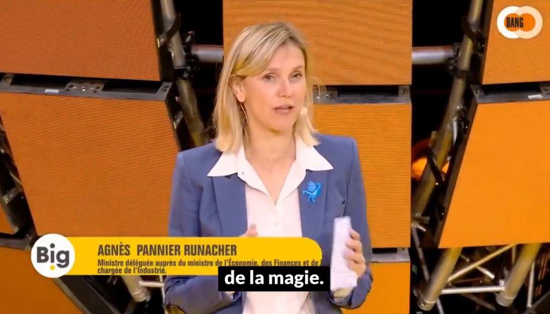 Agnès Pannier-Runacher au sommet du ridicule !