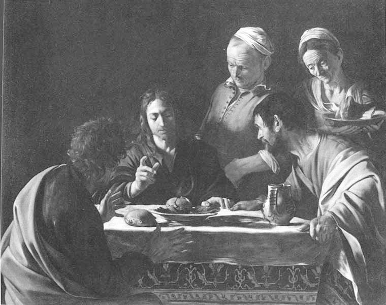 Caravaggio: Emmauszi vacsora