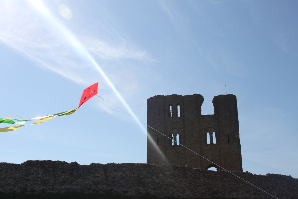 Kite Flying at Scarborough Castle