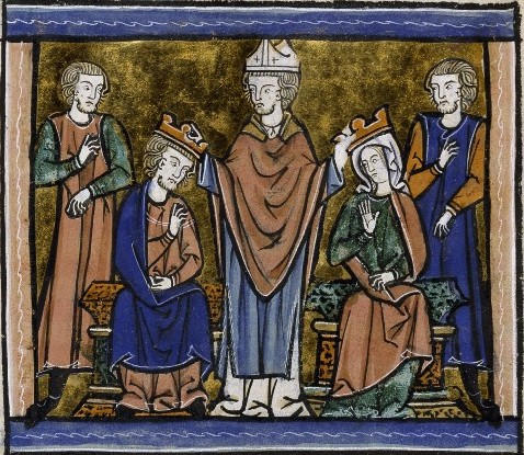 The Coronation of Fulk and Melisende