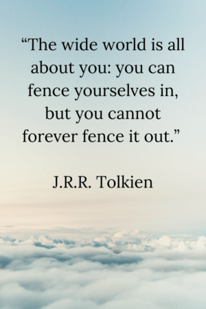 Inspirational Quote Tolkein