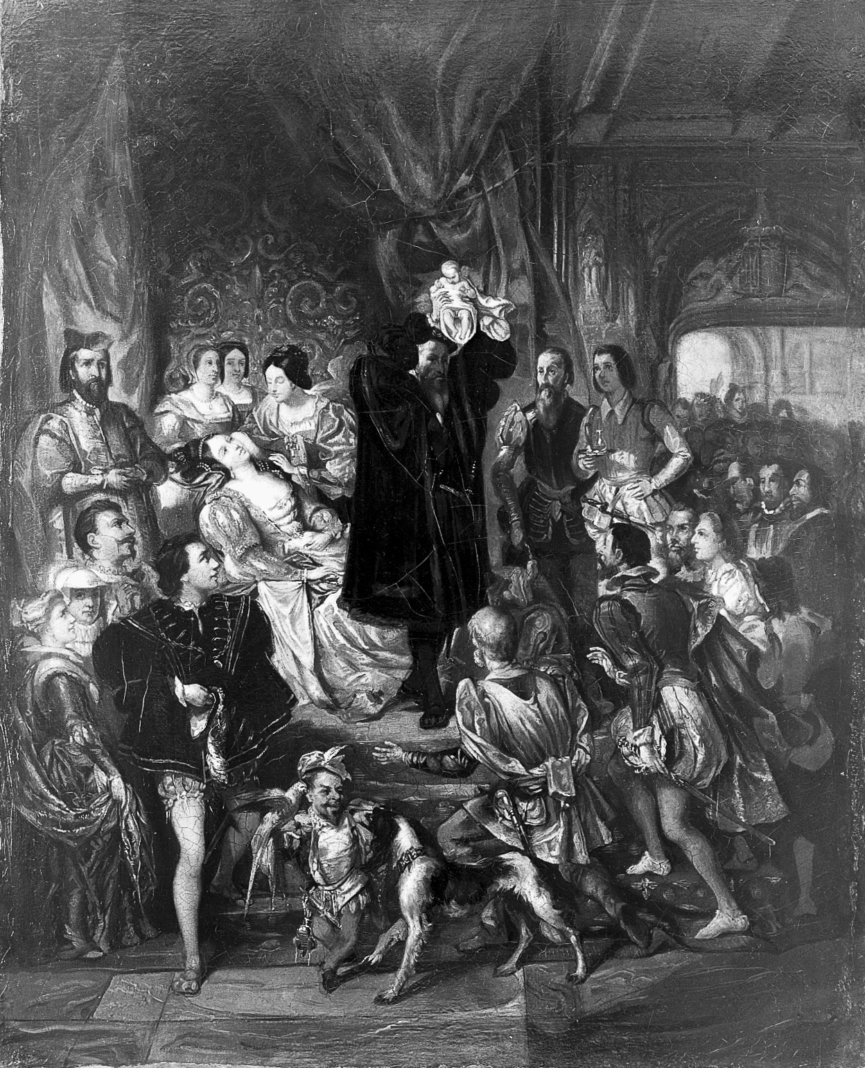 The birth of Henri IV at the castle of Pau