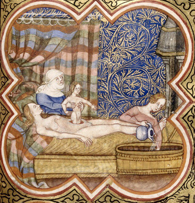 The dangers of giving birth in the Medieval Period