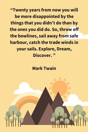 Inspirational Quote Twain