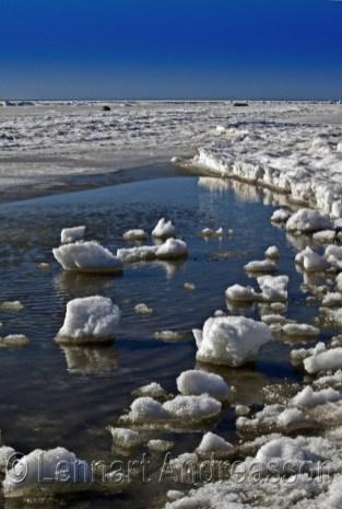 Havsisen ligger i Böste, Skåne