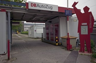 Entrance Db Autozug Hamburg
