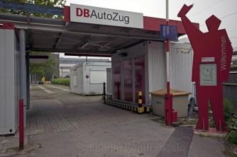 Entrance Db Autozug Hamburg