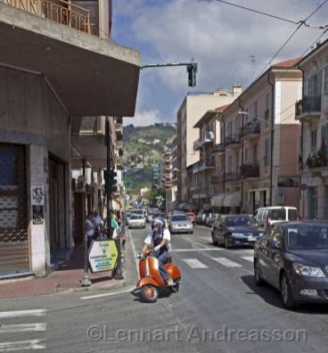 Trafik i Vallecrosia