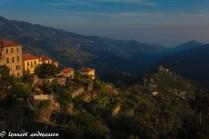 Solnedgång Italien