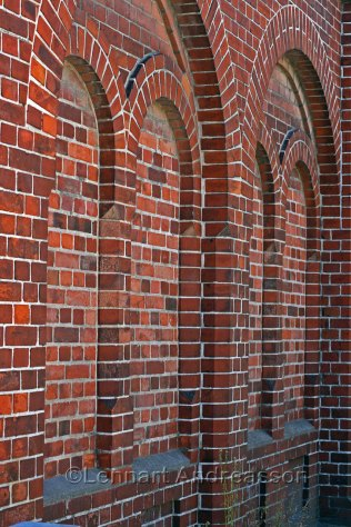 Really nice brick construction in the old fire station, Jordberga Sockerbruk